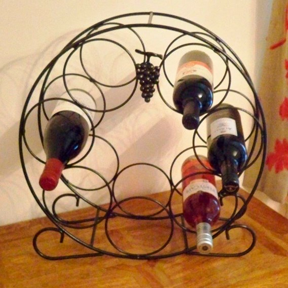 7 Bottle Wine Rack