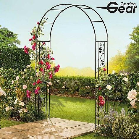 2.2M Garden Arch Flowers