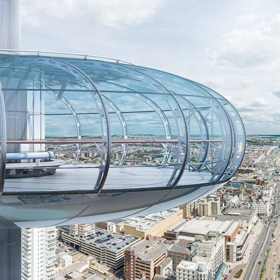 Visit to British Airways i360 and Borde Hill Gardens for Two