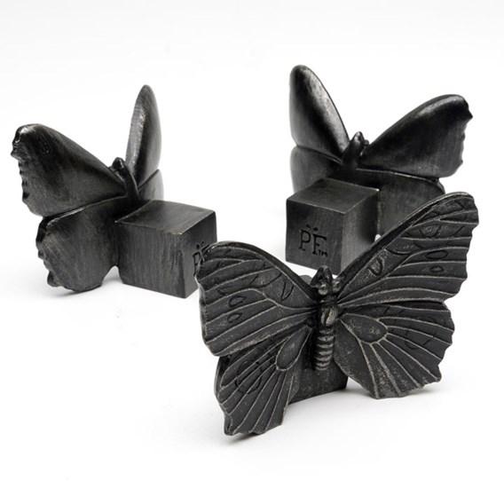 Set of Three 'Butterfly' Pot Feet