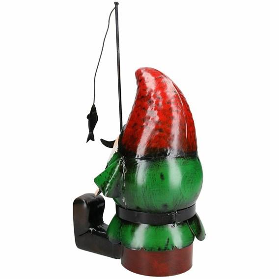 Metal Fishing Gnome