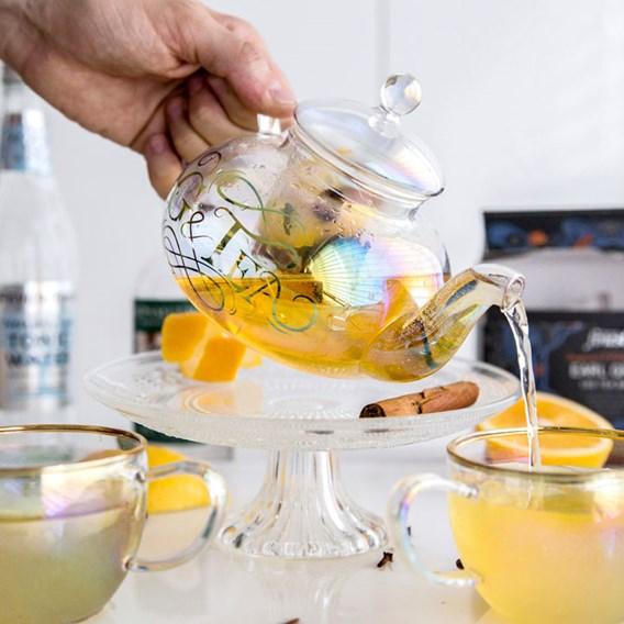 Gin Teapot & Tea Cups