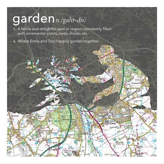 Kneeling Gardener Dictionary Definition Map