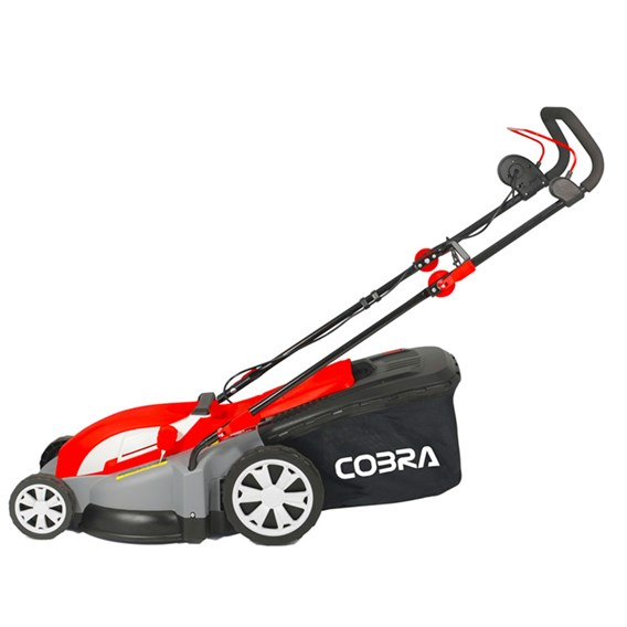 Cobra Electric 1800w 43cm Mulching Mower With Rear Roller