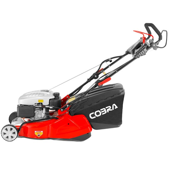 Cobra Self Prop Electric Start 135cc Engine 40cm Mower With Rear Roller