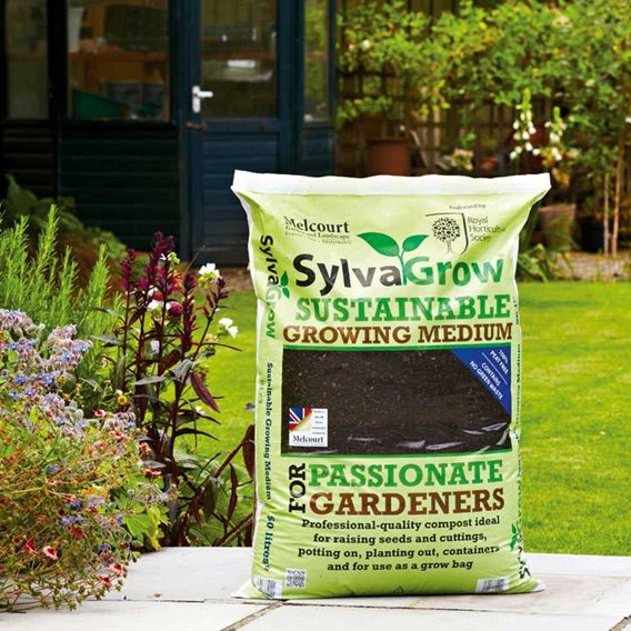 RHS SylvaGrow Multipurpose Compost 50 Litres