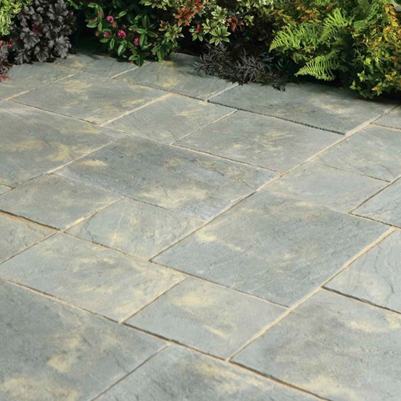 Abbey Paving Random Patio Kit 5.76M2 Antique