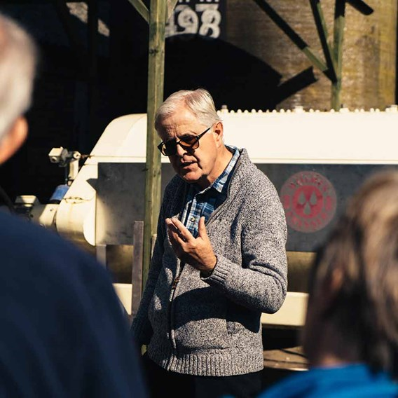 Vineyard Tour and Tasting with Unlimited Cream Tea for Two