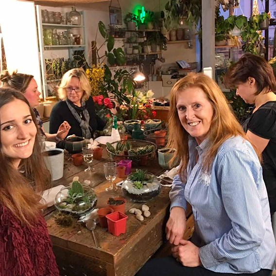 Terrarium Workshop with Prosecco for Two