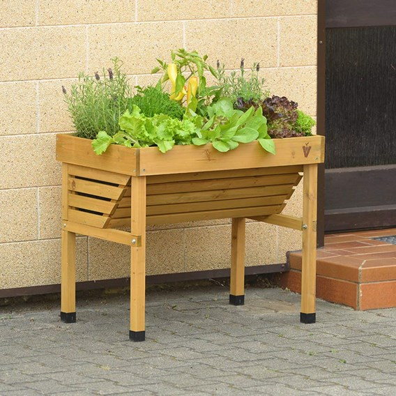 VegTrug mini wallhugger with No frame and cover