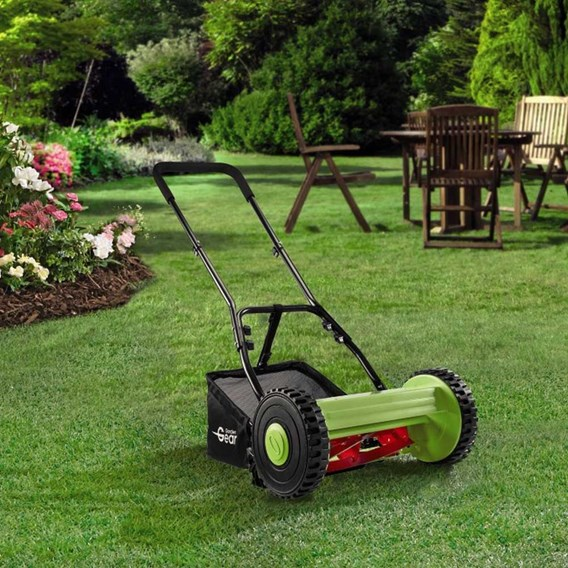 Manual Push Roller Lawn Mower