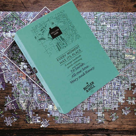 Personalised Jigsaw Aerial Photograph