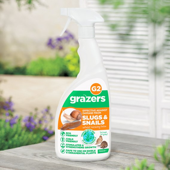 Grazers G2 Slug and Snail Repellent