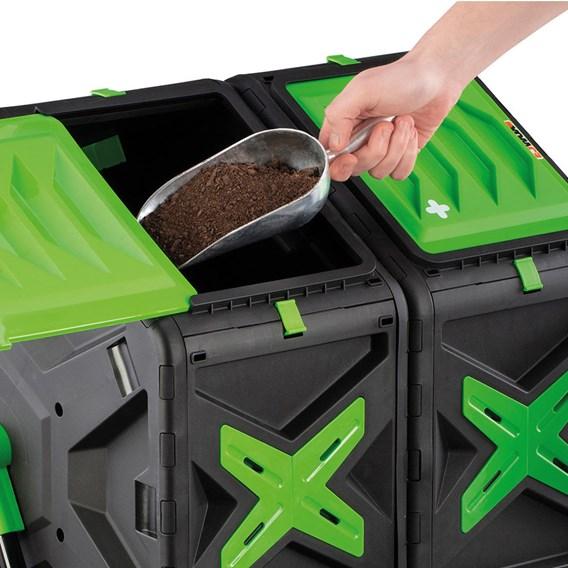 Garden Gear Dual Chamber Rotating Composter