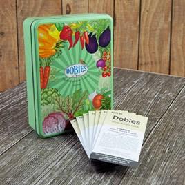 Dobies Green Seed Tin plug Veg Lovers Collection