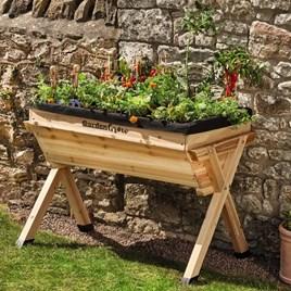 Wooden Raised Planter