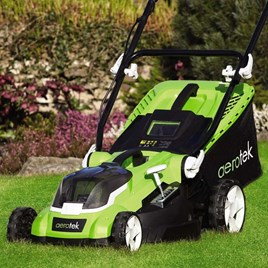 Aerotek 40V Lawnmower 40Cm 2X2.0Ah Batt