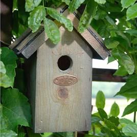 Wren Bird Box - Bitumen Roof