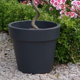 Top Planter Living Grey 23cm (Pair)