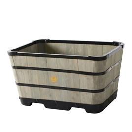 Tapered Greywash Planter - Trough