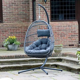 Single Folding Hanging Cocoon Seat
