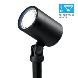 Large Black Spotlight