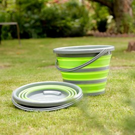 COLLAPSIBLE BUCKET IN GREEN