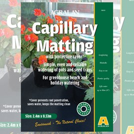 Capillary Matting with Cover
