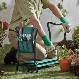 Garden Kneeler With Tool Bag