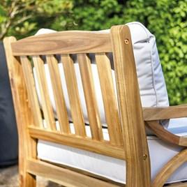 Armchair & Stool Set