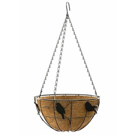 'Perch Bird' - Hanging Basket