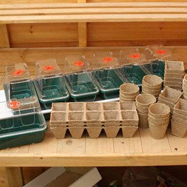 Super 7 Electric Propagator + 104 Pots