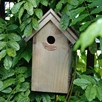 Blue Tit Bird Box - Bitumen Roof