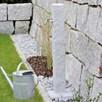 Watering Post Natural Stone